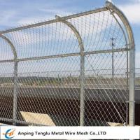 Buy cheap Highway Fence Barrier|Steel Wire Fencing as Highway Guardrail 50x100mm from wholesalers