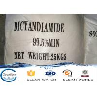 Buy cheap ISO / BV Acceptable Dicyandiamide Dcd 99.5%min industry and electronic from wholesalers
