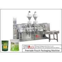 China Moringa Seeds Powder Premade Pouch Packaging Machine For Doypack / Zipper Bag on sale