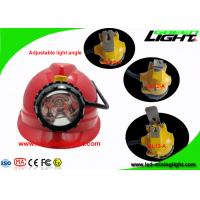 Wholesale Ultra Bright 25000 Lux Safety Mining Cap Lamps with 4 Level Lighting Mode Low Power Function SOS from china suppliers