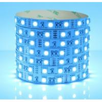 Wholesale 12V 24V 5050 Cool icy ICE Blue LED Strip 5050 SMD 60leds/m from china suppliers