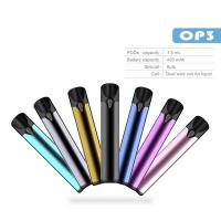 Wholesale Itsuwa vapesoul all in one op3 battery indicator e cig starter kit 420mah battery purple green blue  dual wick coil from china suppliers
