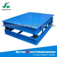 Wholesale Henan electric concrete vibrator Small Vibrating Table for sale from china suppliers