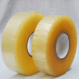 carton sealing Antistatic Bopp Packaging Tape , water based strong acrylic Tape