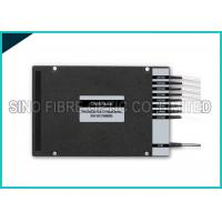 Wholesale 8 Channel Fiber Optic Splitter Dual Fiber DWDM Mux Demux LC UPC Assembly from china suppliers