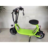 Wholesale Mini ELithium Electric Scooter With Seat HALI With Candy Colour / 350w Motor from china suppliers