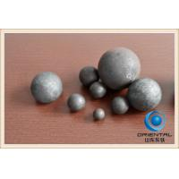 Wholesale 60MN Material Forged Steel Grinding Balls for Mining , Forging and Casting Steel Ball  from china suppliers