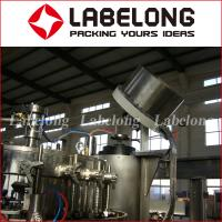 Wholesale High Speed Carbonated Liquid Filling Machine Automatic PLC Control BV Certification from china suppliers