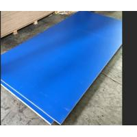 Wholesale Blue Melamine Commercial Plywood Poplar / Hardwood Core For Indoor Decoration from china suppliers