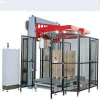 China Excellent-performance high grade pp auto pallet stretch wrapping machine on sale