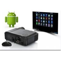Wholesale 1080P Digital LCD Projector WIth Android 4.04 System & Wifi For Home Theatre from china suppliers