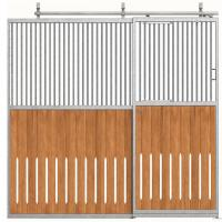 Wholesale Portable Galvanized Steel Pipe Horse Stable Fence Panel As Paddock from china suppliers