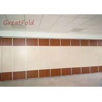China Customized wooden partition wall panel interior wall partition for banquet/restaurant OEM service on sale