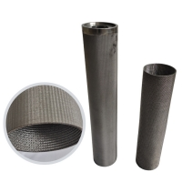 Wholesale 21mm Fine Strainer Felt Sintered Cartridge Filter Mesh from china suppliers