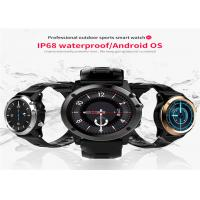 Buy cheap Black Color Touch Screen Watch Android , Bluetooth Smart Wrist Watch TPU from wholesalers