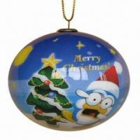 Wholesale Christmas Ball, Customized Specifications are Accepted, Great for Promotional Gifts from china suppliers