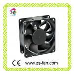 high air flow 60*60*25mm 12v car fan heater 24v dc brushless motor fan