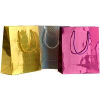 Wholesale ECO Red and Yellow Paper Gift Bags Hot Transter Printing Customized for Packaging from china suppliers