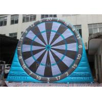 Wholesale Fun Inflatable Sports Games , Inflatable Kick Darts 0.55 Mm Plato PVC Tarpaulin from china suppliers