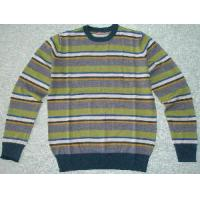 Wholesale Men′s Knitted Sweater, Wool Pullover, Stripe Sweater (SFY-A076) from china suppliers