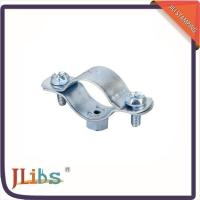 Custom Cast Iron Pipe Clamps , Concrete Pipe Clamps One Side Open 135060