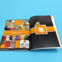 Paper / Paperboard Perfect Binding Catalogue Printing Service Customized A4 / A3 / A5