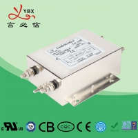 Wholesale Industrial AC Power Noise Filter , EMI EMC RFI 240V AC Mains Filter from china suppliers