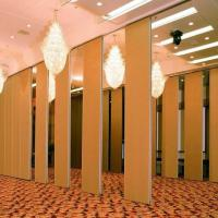 Wholesale Melamine Surface Wooden Partition Doors , Moveable Folding Room Dividers from china suppliers