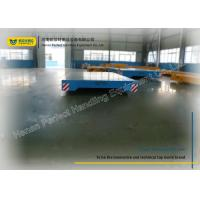 Wholesale 20 Ton Industrial Transfer Trolley Heavy Cargo Rail Flat Cart Work With Crane from china suppliers