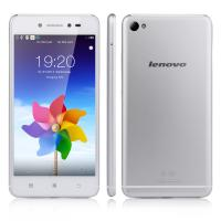 Lenovo S90 4G LTE 5.0 inch Quad Core Snapdragon 410 Android 4.4 Mobile Phone 5.0 inch 1GB RAM 16GB ROM 13MP Silver