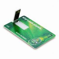Wholesale Credit card usb flash pendrive from china suppliers