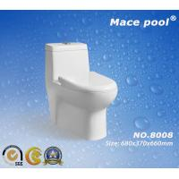 Wholesale Mace Pool Brand Siphonic Ceramic One-Piece Toilet (8008) from china suppliers