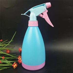 China 500ml Cleaning Detergent Garden Cone Plastic Spray Bottle with Trigger Sprayer on sale