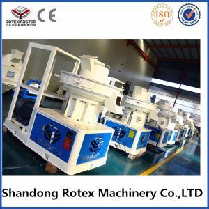 China vertical ring die wood pellet machine / pellet press  1-1.5t/h with 90kw on sale