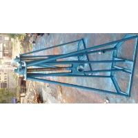 SIK Model 5 Ton Mechanical Cable Reel Stand For Cable Drum To Stringing
