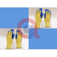 String Knit Aramid Cut Resistant Work Gloves For Mechanical Cutting Process for sale