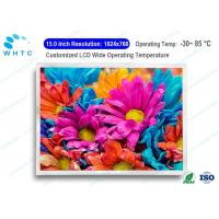 Wholesale Wide Viewing Angle Industrial LCD Screen Monitor 15.0 Inch 1-CH LVDS Interface from china suppliers