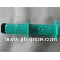 Wholesale ductile iron pipe fittings, flange spigot pipe with puddle flange from china suppliers