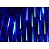 Buy cheap Romantic Meteor Shower Falling Star Lights 50cm 10 Tubes 48 LEDs White / Green from wholesalers