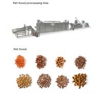 Wholesale 800-1000kg / Hr Pet Food Extruder Machine , Electric / Steam Pet Food Production Line from china suppliers