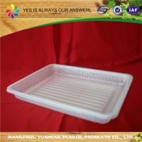 China EVOH PP Disposable Plastic Tray , Frozen Food Tray Different Color on sale
