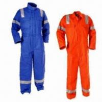 Wholesale Reflective Safety Uniforms in 2012 New Style, Fire-resistant from china suppliers