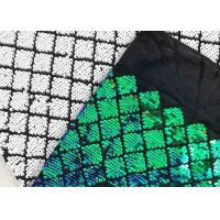 Buy cheap Paillette Square Sequin Fabric / Custom Made Sequin Material Fabric Embroidery from wholesalers