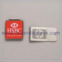 Wholesale Silk Printing Metal Paper Clip/Good Quality Metal Clip from china suppliers