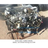High Performance Isuzu Marine Diesel Parts 4he1 Turbo Diesel Engine Competitive Price