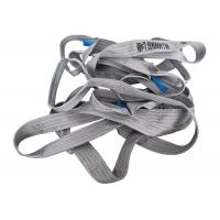 China 100% Polyester Woven Lifting Belt Webbing Sling Grey Color CE Certification on sale