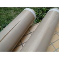 Heat Insulation PTFE Coated Fiberglass Fabric Anti - Corrosion 0.13mm Thickness for sale