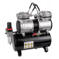China Two cylinder portable airbrush mini compressor AS-196 on sale
