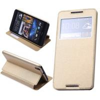 Wholesale Window Display Leather HTC Cell Phone Cases For HTC 816 / Mobile Flip Cover from china suppliers