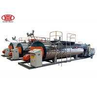 Wholesale Automatic Fire Tube Gas Fired 1Tons Industrial Steam Boiler for Textile / Chemical / Food and Brewery from china suppliers